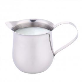 HOUSEEN Gelas Pitcher Kopi Espresso Latte Art Milk Jug Stainless Steel 240ml - DLSC060 - Silver - 3