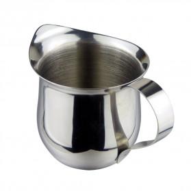HOUSEEN Gelas Pitcher Kopi Espresso Latte Art Milk Jug Stainless Steel 240ml - DLSC060 - Silver - 4