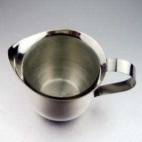 HOUSEEN Gelas Pitcher Kopi Espresso Latte Art Milk Jug Stainless Steel 240ml - DLSC060 - Silver - 5