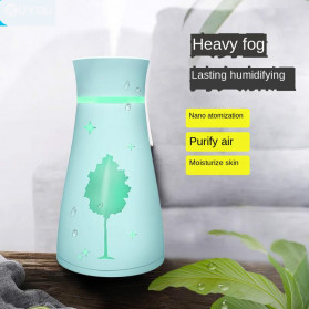 KBAYBO Ultrasonic Air Humidifier Aromatherapy LED Light 200ml - SPT-033 - Pink - 4
