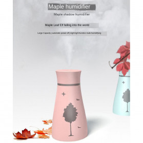 KBAYBO Ultrasonic Air Humidifier Aromatherapy LED Light 200ml - SPT-033 - Pink - 6