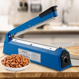 Cikuso Sealer Elektrik Plastik Pembungkus Makanan Heat Sealing Bag 400W - SF-300 - Blue