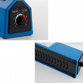 Cikuso Sealer Elektrik Plastik Pembungkus Makanan Heat Sealing Bag 400W - SF-300 - Blue - 2