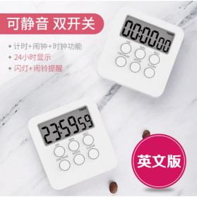 Aihogard Timer Mini Digital Dapur Countdown Timer - II6 - White - 2