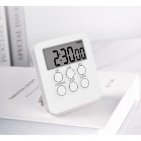 Aihogard Timer Mini Digital Dapur Countdown Timer - II6 - White - 3
