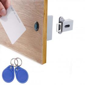 Pintu - Golden Security Kunci Lemari Sensor RFID Keyless Cabinet Door Lock - SCRFID