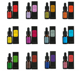 Eighteen Pure Essential Fragrance Oils Minyak Aromatherapy Diffusers Forest 10ml - EGT1 - 2