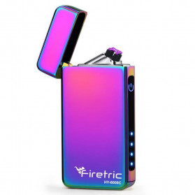 Firetric Korek Api Elektrik Double Pulse Plasma Arc Lighter - HY-6008C - Multi-Color