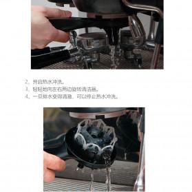 MOJAE Pembersih Mesin Kopi Group Head Cleaning Tool Brush - MOE57 - Black - 10