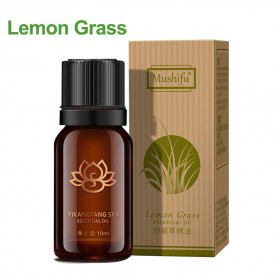 MUSHIFU SPA Pure Essential Fragrance Oils Aromatherapy Diffusers Lemon Grass 10ml - MS10 - 1