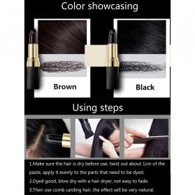 YOUZIXUAN Lipstik Cat Rambut Uban Penghitam Bright Hair Dye Pen - 20180087 - Black - 2