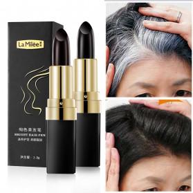 YOUZIXUAN Lipstik Cat Rambut Uban Penghitam Bright Hair Dye Pen - 20180087 - Black - 5