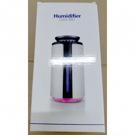 JE J Air Humidifier Smart Ultrasonic Aromatherapy Oil Diffuser LED RGB Light 900ml - WKLS-1688 - Transparent - 8