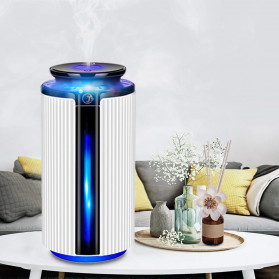 JE J Air Humidifier Smart Ultrasonic Aromatherapy Oil Diffuser LED RGB Light 900ml - WKLS-1688 - Transparent - 5