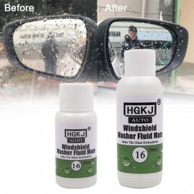 HGKJ Cairan Anti Embun Window Windshield Glass Anti-fog Hydrophobic Coating 50ml - HGKJ-16 - 2