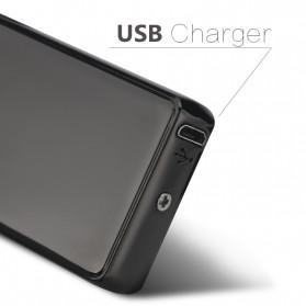 DAROBTL Korek Api Elektrik Double Pulse Plasma Arc Lighter USB Rechargeable - JL-611 - Black - 2