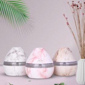 Taffware Aromatherapy Air Humidifier Night Light Marble 300ml - Humi H296 - White - 4
