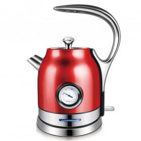Sonifer Teko Listrik + Thermometer Modern Design 1500W 1.8L - SF2046 - Red