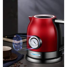 Sonifer Teko Listrik + Thermometer Modern Design 1500W 1.8L - SF2046 - Red - 3