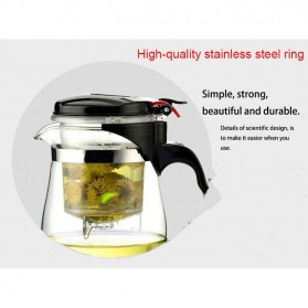 Homadise Teko Pitcher Teh Chinese Teapot Maker 750ml - TP-758 - Transparent - 5