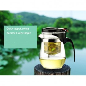 Homadise Teko Pitcher Teh Chinese Teapot Maker 750ml - TP-758 - Transparent - 8