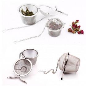 JETTING Filter Saringan Teh Reusable Tea Infuser Strainer 45mm - WLC400 - Silver - 2