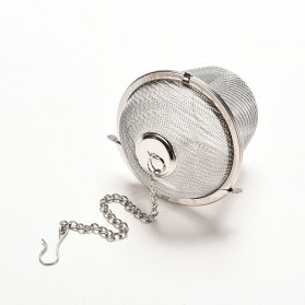 JETTING Filter Saringan Teh Reusable Tea Infuser Strainer 45mm - WLC400 - Silver - 9