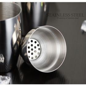 UPORS 6 in 1 Bartender Drink Bar Set Cocktail Shaker Stainless Steel 750ml - BA016 - Silver - 3
