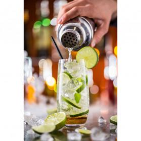 UPORS 6 in 1 Bartender Drink Bar Set Cocktail Shaker Stainless Steel 750ml - BA016 - Silver - 8