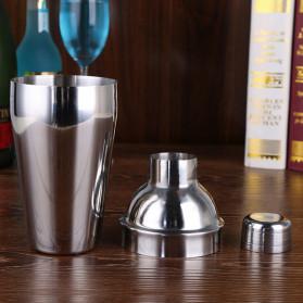 UPORS 6 in 1 Bartender Drink Bar Set Cocktail Shaker Stainless Steel 750ml - BA016 - Silver - 9