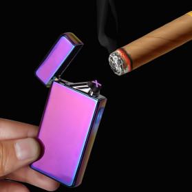 LCFUN Korek Api Elektrik Double Pulse Plasma Arc Lighter USB Rechargeable - F130015 - Black - 7