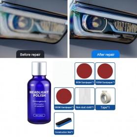 Goxfaca Cairan Pemutih Lampu Mobil Headlight Polish Repair Coat 10ml - LE01646 - 2