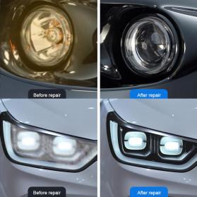 Goxfaca Cairan Pemutih Lampu Mobil Headlight Polish Repair Coat 10ml - LE01646 - 4