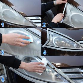 Goxfaca Cairan Pemutih Lampu Mobil Headlight Polish Repair Coat 10ml - LE01646 - 5