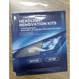Goxfaca Cairan Pemutih Lampu Mobil Headlight Polish Repair Coat 10ml - LE01646 - 7
