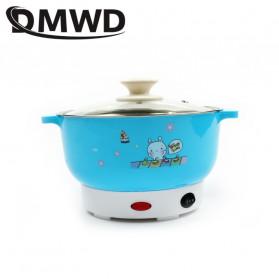 DMWD Panci Listrik Mini Hot Pot Electric Cooker 2L 800W - LDN3531 - Blue