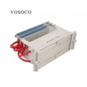 VOSOCO Ozonizer DIY Ozone Generator Portable Ceramic Plate Air Purifier 15g/h - VOS15 - White - 3