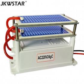 JKWSTAR Ozonizer DIY Ozone Generator Portable Ceramic Plate Air Purifier 24g/h - JK-24 - White