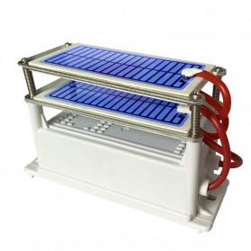JKWSTAR Ozonizer DIY Ozone Generator Portable Ceramic Plate Air Purifier 24g/h - JK-24 - White - 2