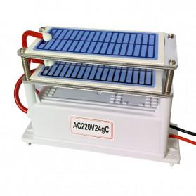 JKWSTAR Ozonizer DIY Ozone Generator Portable Ceramic Plate Air Purifier 24g/h - JK-24 - White - 3