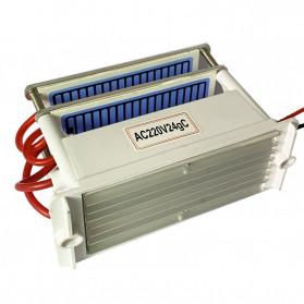 JKWSTAR Ozonizer DIY Ozone Generator Portable Ceramic Plate Air Purifier 24g/h - JK-24 - White - 4