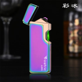 Firetric Korek Api Elektrik Pulse Plasma Arc Lighter Touch Sensor Elegant Design - JL809 - Purple