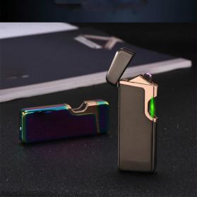 Firetric Korek Api Elektrik Pulse Plasma Arc Lighter Touch Sensor Elegant Design - JL809 - Black - 4