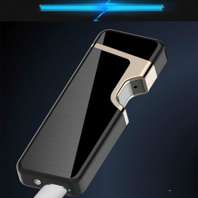 Firetric Korek Api Elektrik Pulse Plasma Arc Lighter Touch Sensor Elegant Design - JL809 - Black - 6