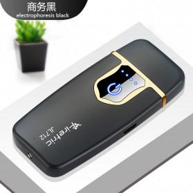Firetric Korek Api Elektrik Fingerprint Touch Sensor - JL711 - Glossy Black