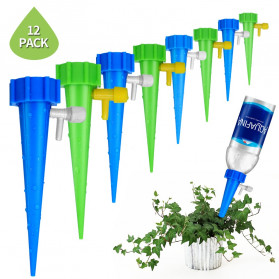 ROBESBON Penyiram Tanaman Automatic Irrigation Dripper Self Watering Spikes - 10263 - Mix Color