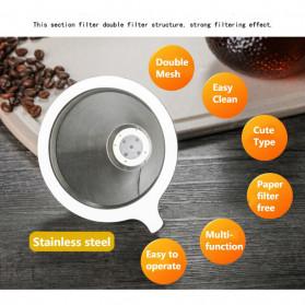 OHFIN Coffee Maker Pot V60 Drip Kettle Teko Kopi 200ml with Filter - SE112 - 10
