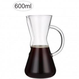 OHFIN Coffee Maker Pot V60 Drip Kettle Teko Kopi 600ml - SE113