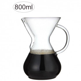 OHFIN Coffee Maker Pot V60 Drip Kettle Teko Kopi 800ml - SE113