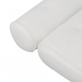 LemonBest Bantal Sandaran Bathtub SPA Pillow Cushion Neck Back Support - SPC3D - White - 12